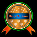 Merry Christmas icon Stock Photography
