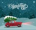 Merry Christmas Illustration. ...