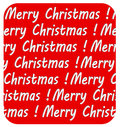 Merry Christmas inscription, on red background Royalty Free Stock Photo