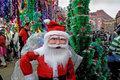 Merry-Christmas in Kolkata-India Stock Photography