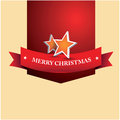 Merry christmas lettering on abstract background Royalty Free Stock Photos