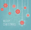 Merry Christmas lettering design. Vector illustration. Season cards, greetings for social media Royalty Free Stock Photo