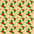 Merry christmas pattern Royalty Free Stock Photos