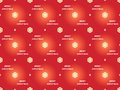 Merry christmas pattern red seamless Stock Photos