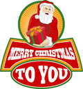 Merry Christmas Santa Claus Royalty Free Stock Image