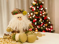 Merry christmas santa claus Stock Photos