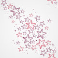 Merry christmas star shapes seamless pattern backg hand drawn background eps vector file organized in layers for easy editing Royalty Free Stock Photo