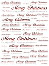 Merry christmas text background Stock Image