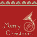 Merry Christmas Text Design Stock Photos