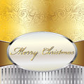 Merry Christmas Vector Card Royalty Free Stock Photography