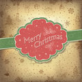 Merry Christmas vintage background Stock Images