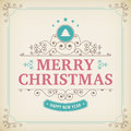 Merry Christmas Vintage Orname...
