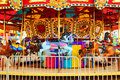 Merry-go-round Royalty Free Stock Photo