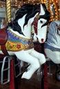 Merry-go-round horse Royalty Free Stock Photo