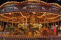 Merry-go-round In Winter Wonde...