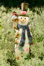 Merry snowman Stock Images