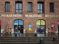 Merseyside Maritime Museum in Liverpool Royalty Free Stock Photo