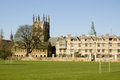 Merton College, Oxford Royalty Free Stock Images