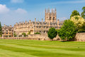 Merton college oxford uk view of university oxfordshire england Stock Image