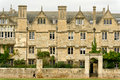 Merton college, Oxford university, England Royalty Free Stock Image