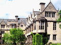 Merton college oxford university was founded in by walter de chancellor to henry iii and could be the oldest of the Royalty Free Stock Photo