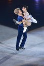 Meryl Davis and Charlie White Royalty Free Stock Photos