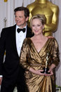 Meryl Streep, Colin Firth Stock Photo