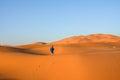 Merzouga desert Royalty Free Stock Photo