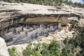 Mesa verde homes historic orginal americans lived here then vanished Stock Image