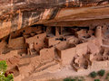 Mesa verde national park the cliff dwellings at colorado s date back years Royalty Free Stock Photos