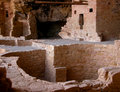 Mesa verde national park the cliff dwellings at colorado s date back years Stock Photos