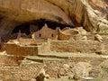 Mesa Verde Ruins Royalty Free Stock Photography