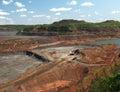 Mining Mesabi iron range Royalty Free Stock Photo