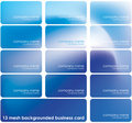 Mesh background business card Royalty Free Stock Images