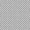 Mesh, grid with intersecting deformed, distorted lines. Seamless