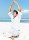 Mesmerizing meditation Royalty Free Stock Photo