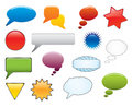 Message Elements Set Royalty Free Stock Images