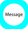 The message icon