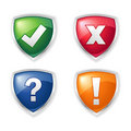 Message icons Stock Images