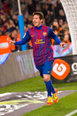 Messi celebrating a goal Royalty Free Stock Image