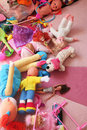 Messy play room Royalty Free Stock Images