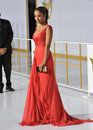 Meta golding los angeles ca november actress at the los angeles premiere of the hunger games mockingjay part one at the nokia Stock Image