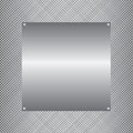 Metal background illustration Royalty Free Stock Photo