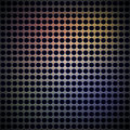 Metal Background with Little Holes, Royalty Free Stock Photo