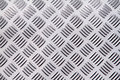 Metal background texture. Diamond plate. Royalty Free Stock Photo