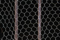 Metal bars and net Royalty Free Stock Photography