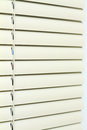 Metal Blinds Stock Photo