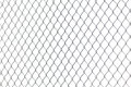 Metal Chainlink Fence Royalty Free Stock Photo