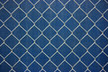Metal chainlink grid Royalty Free Stock Photo