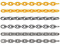 Metal chains Stock Photo